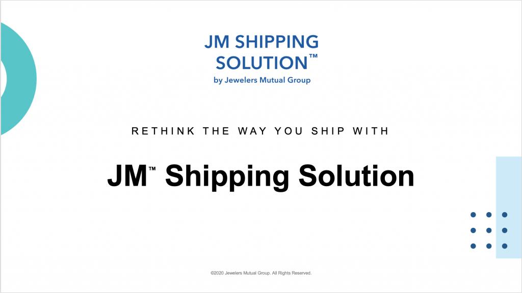 JM Shipping Solution Webinar