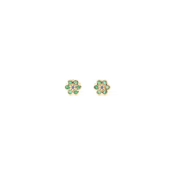 Sophie dAgon miniflower earrings