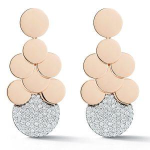 Walters Faith Lytton disc earrings