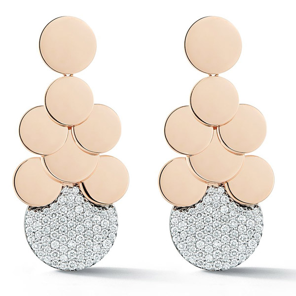 Walters Faith Lytton disc earrings