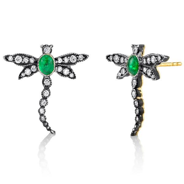 Arman Sarkisyan dragonfly earrings