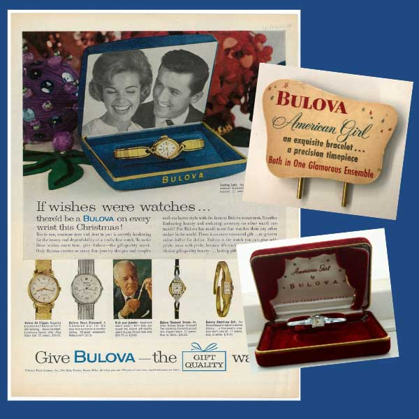 Bulova vintage advertising