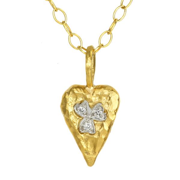 Cathy Waterman heart pendant