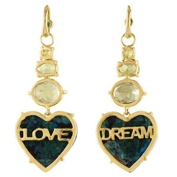 Eden Presley Dream Love earrings back