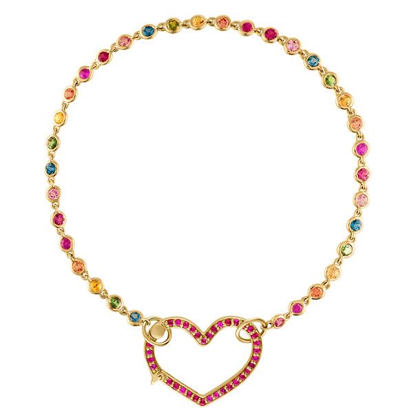 Eden Presley heart closure bracelet