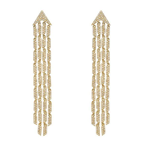 Edward Avedis fringe earrings