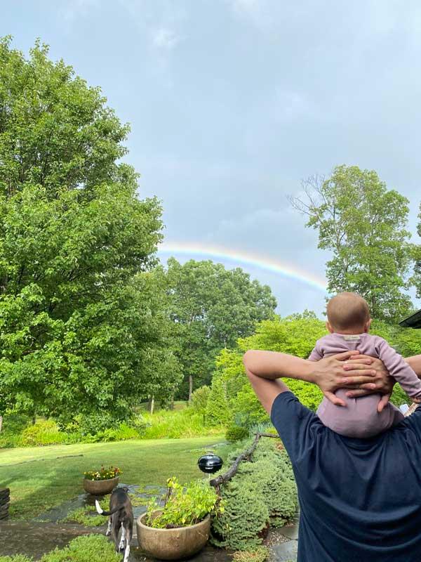 Elizabeth Potts rainbow