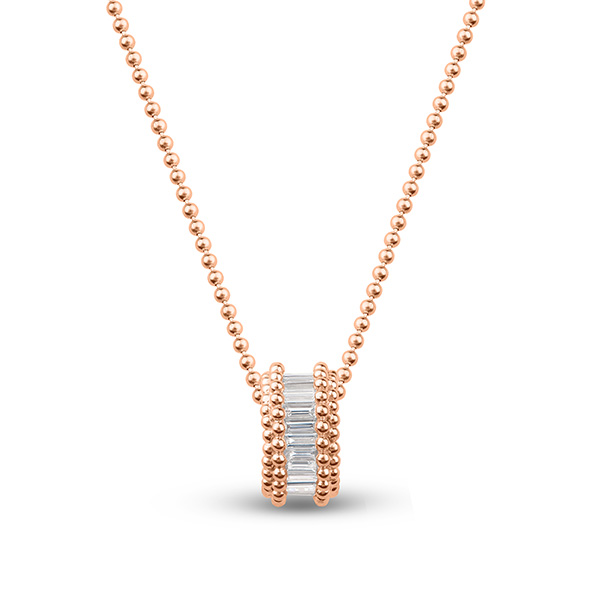 Harakh Sunlight rose gold pendant