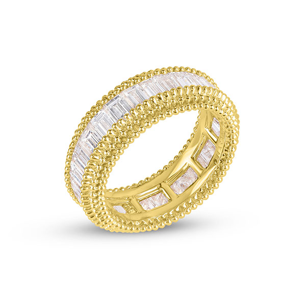 Harakh sunlight diamond stacking ring