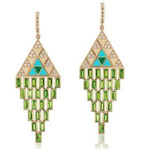 Harwell Godfrey Amina chandelier earrings