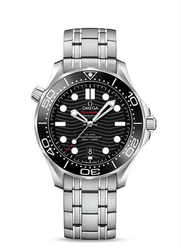 Joe Biden Omega Seamaster 300M black dial
