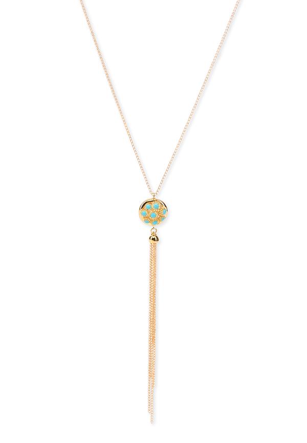 Kapes tassle necklace