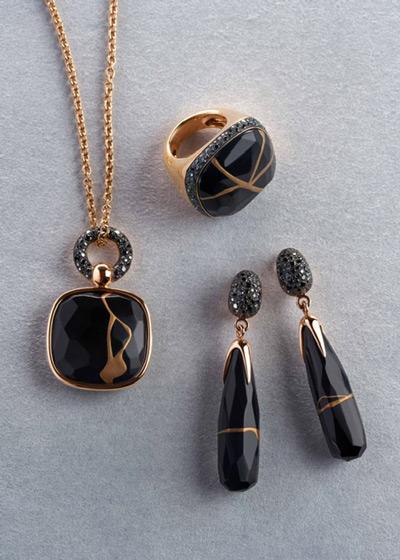 Kintsugi Pomellato collection black