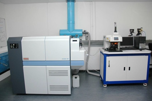LA-ICP-MS machine