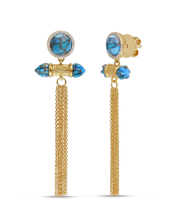 LMJ fringe earrings