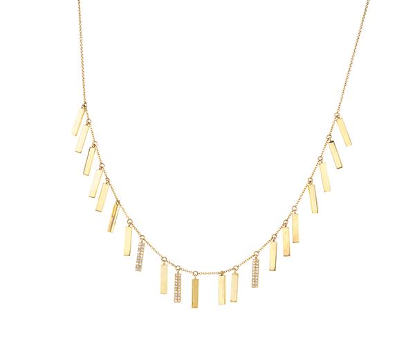 Lee Jones candy bar necklace