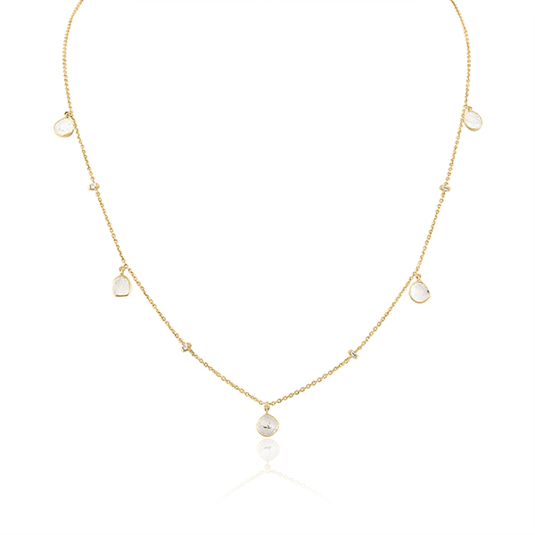 Loriann Reflections station necklace