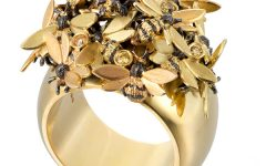 Max Danger bee cluster ring