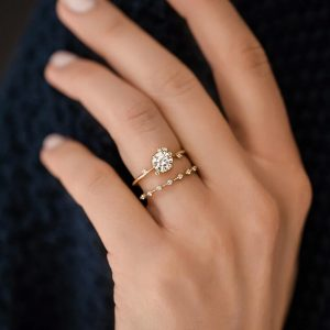 Melanie Casey To a Flame ring