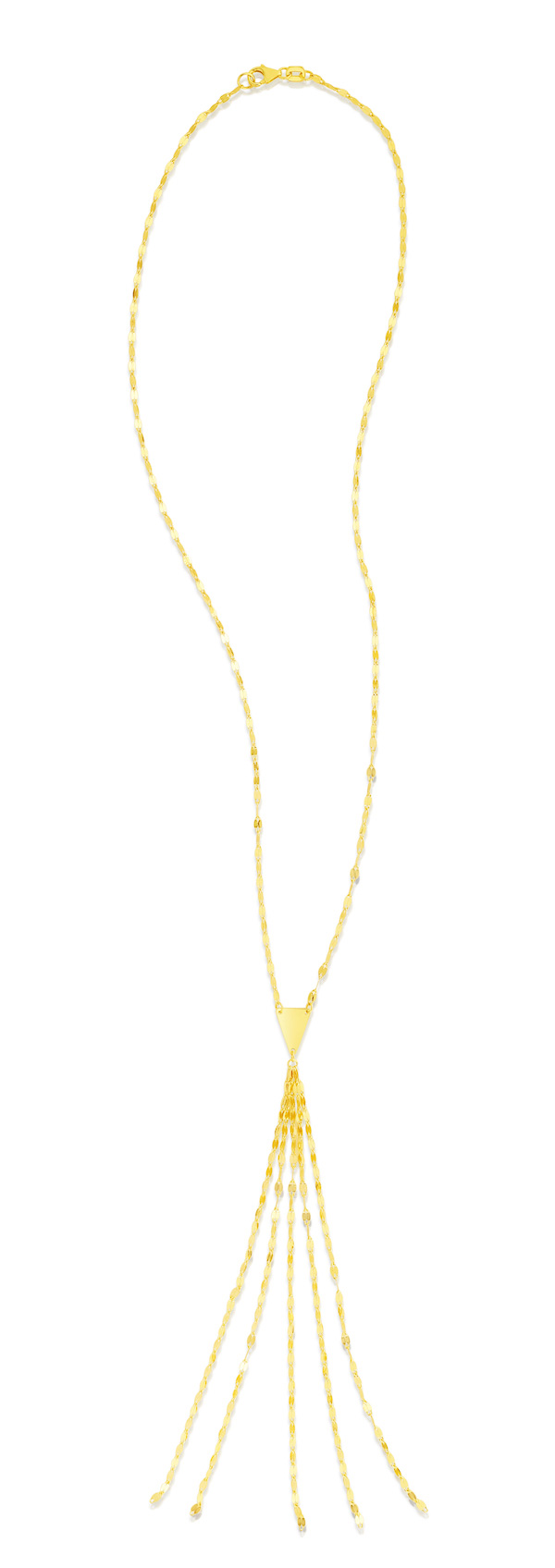 Royal Chain flapper necklace