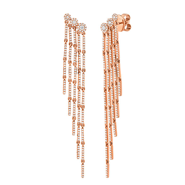 Shy Creation fringe earrings