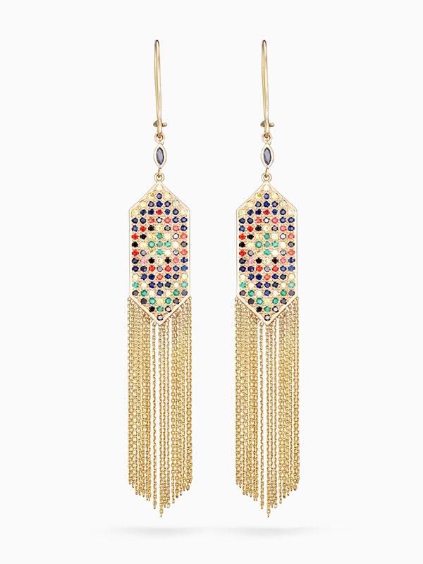 Sophie dAgon earrings