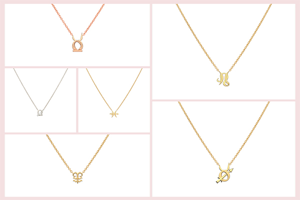 Starlust Zodiac pendants
