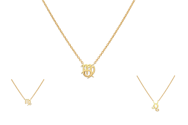 Starlust zodiac necklaces