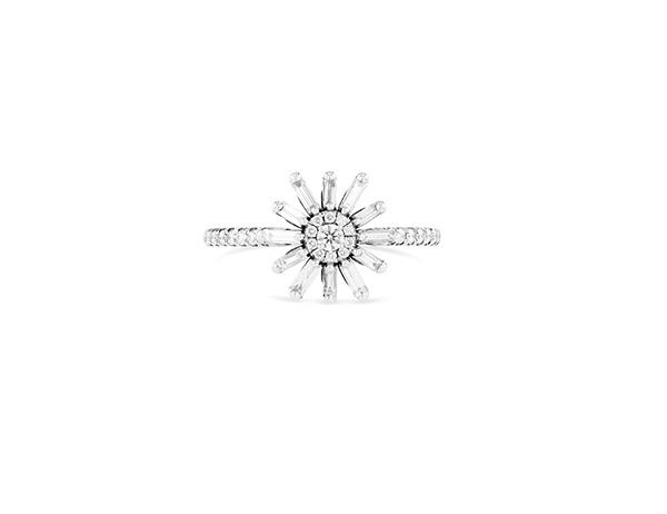 Suzanne Kalan white diamond flower ring