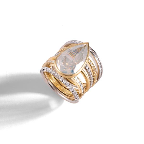 Sylva and Cie spiral ring