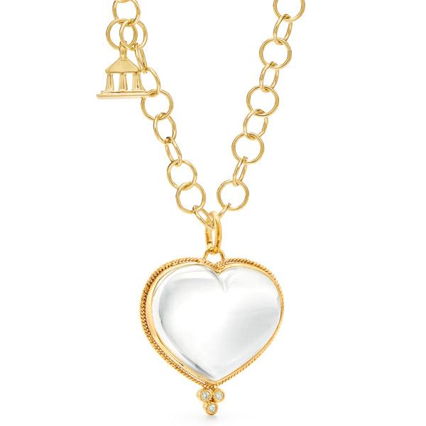 Temple St Clair heart pendant