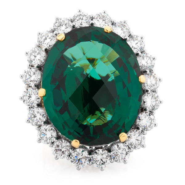 Thelma West garnet ring