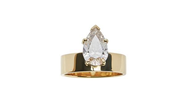 WWAKE Pear Diamond Monolith