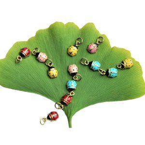 Alison Nagasue ladybug charms