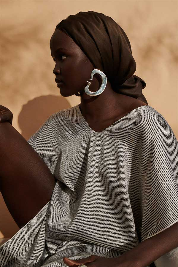 Ariana Boussard Reifel Jason Wu hoop earrings