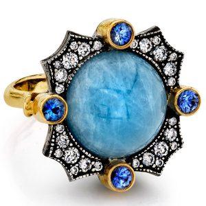 Arman Sarkisyan aquamarine ring