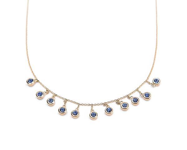 Bondeye Jewelry blue sapphire necklace