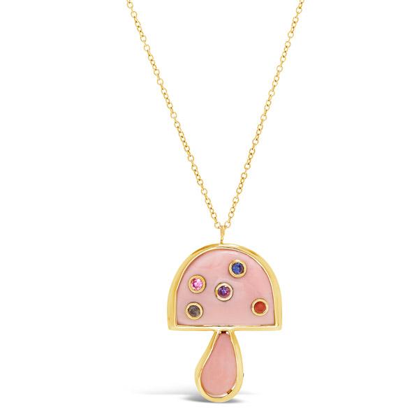 Brent Neale pink opal mushroom