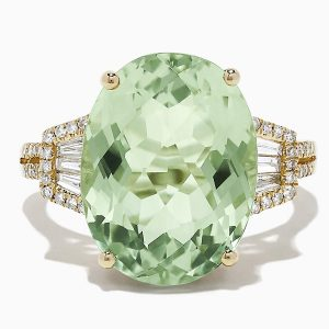 Effy Jewelry green quartz ring