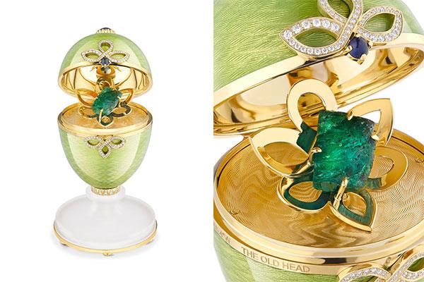 Faberge Craft Irish whiskey egg