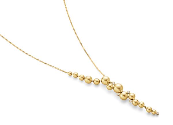 Georg Jensen grapes necklace