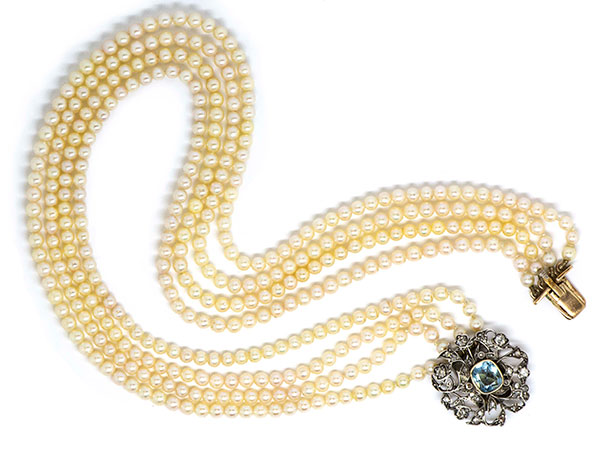 IGR Antique pearl necklace