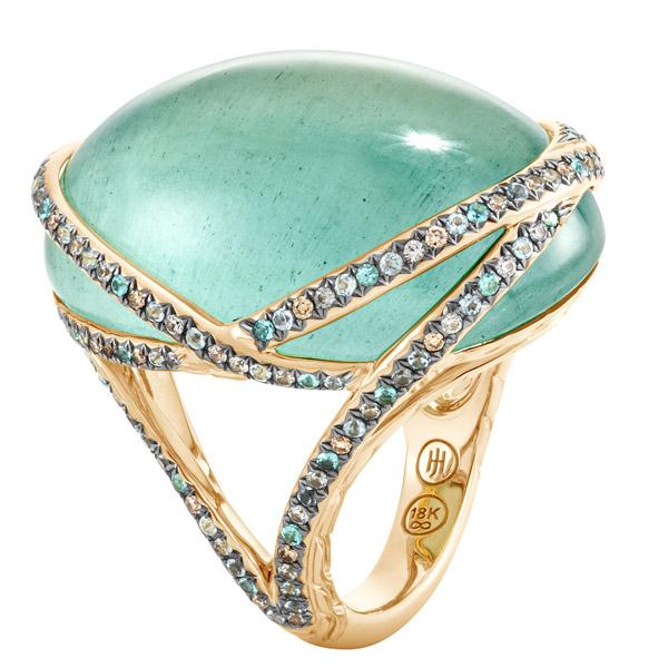 John Hardy aquamarine ring