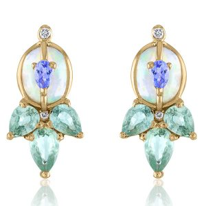 Loriann Jewelry opal earrings