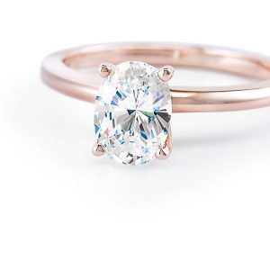Stuller oval diamond engagement ring