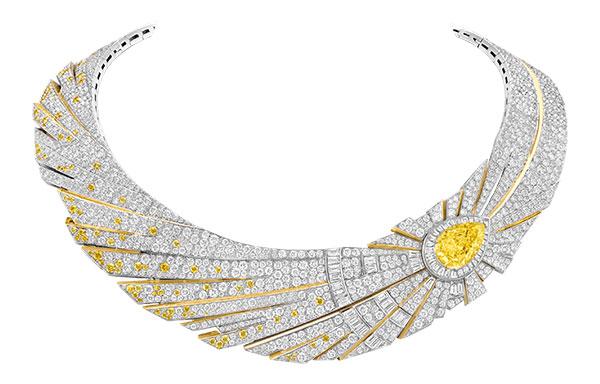 Van Cleef Arpels Halley necklace and ring