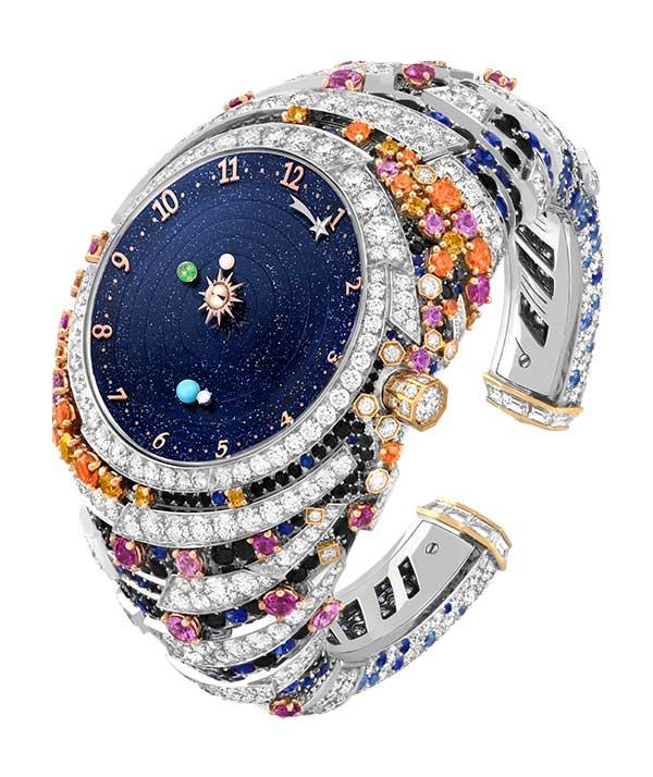 Van Cleef Arpels Planetarium high jewelry watch