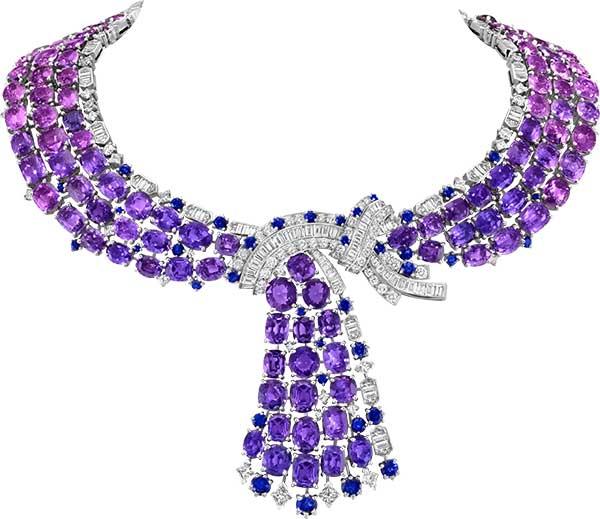 Van Cleef Arpels reversible necklace
