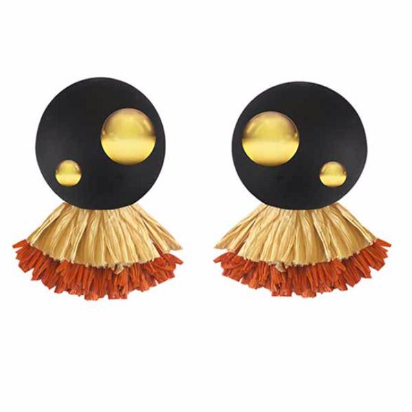 Vanda Jacintha Forrest earrings