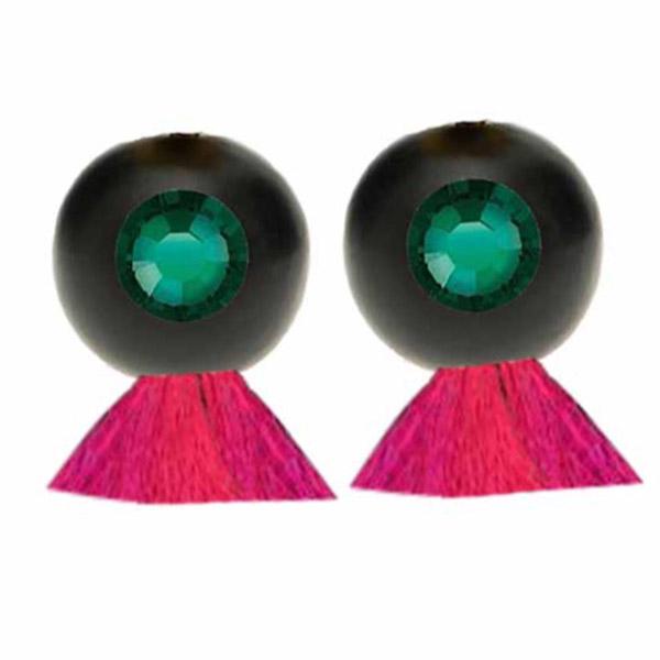 Vanda Jacintha Rio Verde earrings